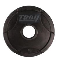 Troy Urethane Encased Interlocking Grip Plates - 5LB