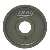 Troy High Grade Wide Flanged Olympic Plates - 5LB