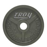 Troy High Grade Wide Flanged Olympic Plates - 25LB