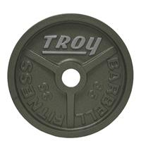 Troy High Grade Wide Flanged Olympic Plates - 35LB