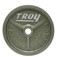 Troy High Grade Wide Flanged Olympic Plates - 100LB