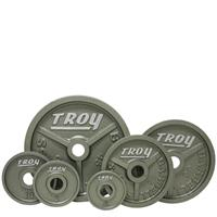 Troy High Grade Wide Flanged Olympic Plate Set