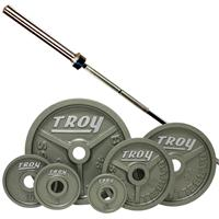 Troy High Grade Wide Flanged Olympic Weight Set