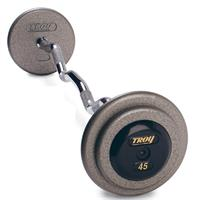 Troy Pro Style Gray Curl Bar Rubber End Cap