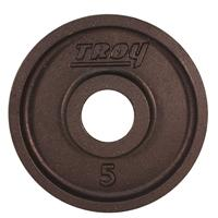 Troy Premium Wide Flanged Olympic Plates - 5LB