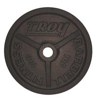 Troy Premium Wide Flanged Olympic Plates - 100LB