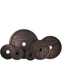 Troy Premium Wide Flanged Olympic Plate Set