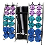 Troy TLS-PAC-C Workout Strength Training Club Pack - Color Plates