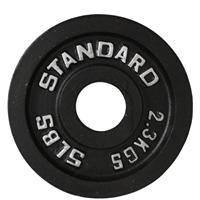 Troy USA Sports Black Olympic Plates - 5LB