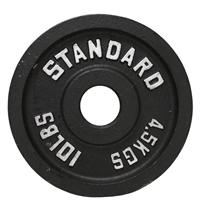 Troy USA Sports Black Olympic Plates - 10LB