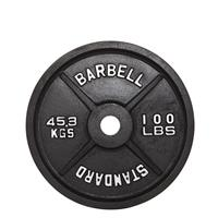 Troy USA Sports Black Olympic Plates - 100LB