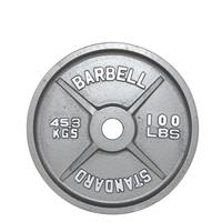 Troy USA Sports Gray Olympic Plates - 100LB