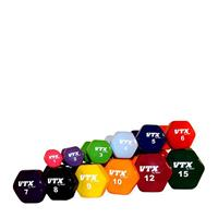 Troy VTX Premium Vinyl Dumbbell Set - 2, 4, and 6LB
