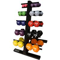 Troy VTX Premium Vinyl Dumbbell Set