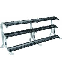 York ETS 3 Tier Pro Dumbbell Saddle Rack