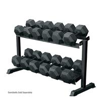 York 2 Tier Pro Hex Dumbbell Rack